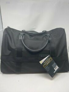 New Briggs & Riley Baseline Medium Duffle Bag Black 280-4 $229