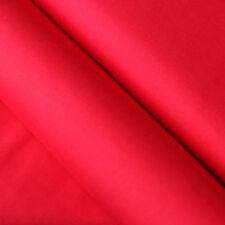 Baumwollstoff UNI Farbe Rot 100% Baumwolle einfarbig