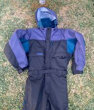 Vintage Columbia Ski Snow Suit One Full piece Mens Size Small