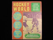 February 1971 Hockey World Magazine - Dennis Hull Blackhawks Cover