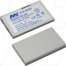 3.7V 900mAh Replacement Battery Compatible with Konica Minolta NP-200