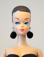 Barbie Doll Repro Vintage FR Handmade Big Pom Pom Earrings Jewelry Set NE315