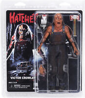 """Hatchet - Victor Crowley (8"""" Clothed Action Figure) horror toy collectible, NECA"""