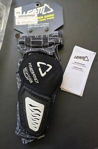 New Black and White XXL Leatt 3DF Hybrid Elbow Guards