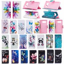 Handy Tasche Flip Cover Case Schutz Hülle Etui Wallet Für Huawei P8 P9 Lite & LG