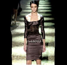 d9ca9f369 Gucci Tom Ford 2003 Runway Chic Corset Dress MariaCarla Boscono