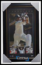 Sachin Tendulkar Signed The Ultimate Cricketer Vertiramic Signed Print Framed