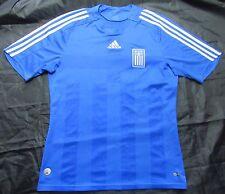 Greece EURO 2008 away shirt jesrsey ADIDAS Ethniki 2007-2009 Piratiko men SIZE M