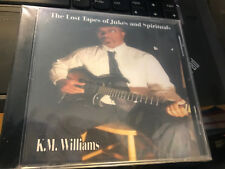 """KM K.M. Williams """"The Lost Tapes of Jukes and Spirituals"""" cd SEALED"""