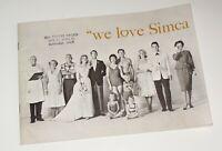 Original 1960 Simca Etoile U.S. Market 20-Page Brochure~Print Code 81-810-1010