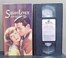 Susan Lenox: Her Fall & Rise    (VHS)     LIKE NEW    7059