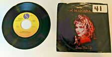 "MADONNA ""Dress You Up""/ ""Shoo-Bee-Doo"" 45 RPM 7"" Vinyl Record Picture Sleeve VGC"