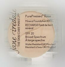 Jane Iredale PurePressed Base Mineral Foundation SPF20 Refill Satin 0.35oz