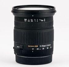 Sigma DC  17- 70 mm   2.8 / 4.5   pour Canon EOS