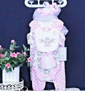 "Baby Girl Cutie Pie 3-6 Mos. Girl ""Sweetie"" 9 Pieces Gift Set  NEW J-07 R"