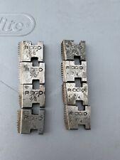 "New listing Ridgid 3/4"" Npt 12-R Pipe Threading Dies Reversible"