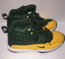 NIKE AIR FORM ZM ZOOM HI-TOPS  Football Cleats SIZE 16 Sport Play Packers Green