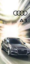 2018 Audi A3 24-page Original Car Sales Brochure Catalog - S3 RS3 Quattro e-tron