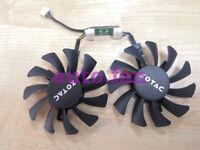 1pcs new  ZOTAC GeForce GTX 970 4GB card fan GA81S2U 4-wire temperature control