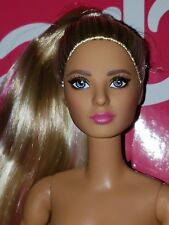 50TH ANNIVERSARY PUMA CAUCASIAN Barbie NUDE DOLL ONLY  LOUBOUTIN FACE