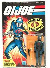Vintage 1983 HASBRO G.I JOE COBRA COMMANDER Mint on Card Unpunched