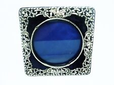 Antique Silver Photograph Frame, Sterling, English, Hallmarked Chester 1901.