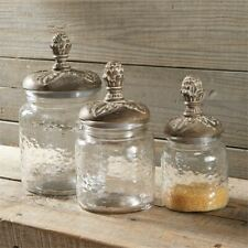 Pine Cone Canister Set by Mud Pie