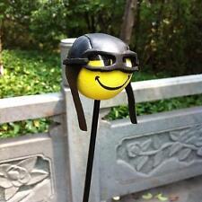 Funny Pilot Car Antenna Aerial Ball EVA Topper Truck SUV Pen Decor Gift Toy