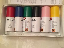 ADIDAS ADICOLOR SPRAY PAINTS PACK OF 6 HIGHLY COLLECTIBLE!!