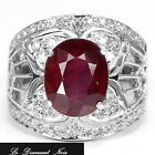 _LDN_ Bague Blood Red Rubis_Argent 925_T 52/53