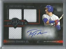 Troy Tulowitzki 2017 Topps Museum Collection Autograph Game Used Jersey #31/35