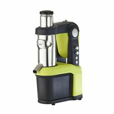 More details for santos cold press juicer in black aluminium & plastic - manual feed
