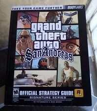 Grand Theft Auto San Andreas GTA Brady Games Official Strategy Guide PS2- W/MAP
