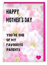 Divertido Día de la Madre Tarjeta para Mamá / Step Mum You'Re Uno de los My