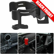 Multi-Function Drink Cup Phone Holder Stand Bracket Fit 2018+ Jeep Wrangler JL