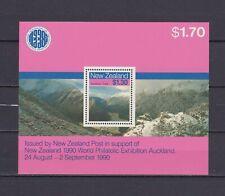 S18086) New Zealand MNH Neu 1988 Scenic Walkways S/S