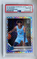 2019-20 SSP Donruss Optic Checkerboard Ja Morant RC Grizzlies PSA 10 Pop 4 🔥🔥