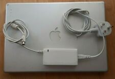 """Apple Powerbook G4 A1046 1.25GHz 1+80GB Silver 15"""" PSU MacOSX10.5.8 New Battery"""