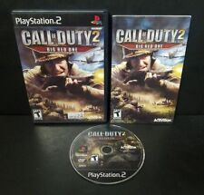 Call of Duty 2: Big Red One (Sony PlayStation 2, 2005) PS2 Complete