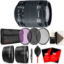 Canon EF-S 18-55mm IS STM Lens with Accessory Kit For Canon T6 , T6i and T7i