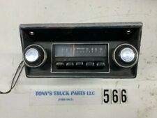 1968-1972 Ford Truck AM Radio and Bezel
