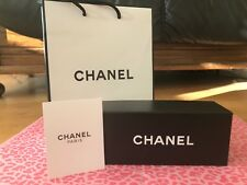 GENUINE*-*CHANEL*-* QUILTED SPECTACLES/SUNGLASSES HARD CASE 4 PIECE SET