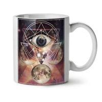 Moon Space Planet NEW White Tea Coffee Mug 11 oz | Wellcoda