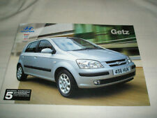 Hyundai Getz brochure Feb 2003