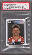 Thomas Muller 2010 Panini UEFA Champions League Sticker #291 PSA 9 MINT Bayern