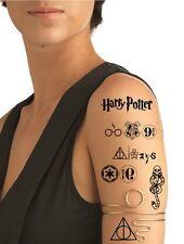 Ship from NY - Set of 7 Harry Potter Temporary Tattoos