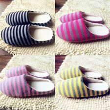 Men Women Winter Soft Indoor Slippers Anti-Slip Floor Cotton Household Shoes