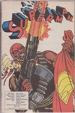 SUPERMAN SUPPLEMENTO AL NUMERO 6 DI CORTO MALTESE GIUGNO1989
