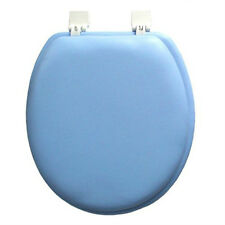 SOFT PADDED TOILET SEAT STANDARD ROUND, BLUE