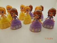 "X 10! Disney Princess 3"" dolls Sofia the First + Sister Amber Doll Party bag!"